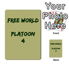 Cds   Free World By Agentbalzac   Multi Purpose Cards (rectangle)   826uvfjg2tu2   Www Artscow Com Front 4
