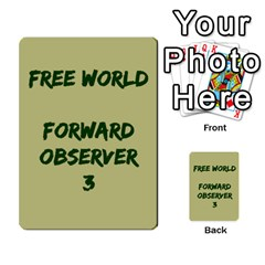 Cds   Free World By Agentbalzac   Multi Purpose Cards (rectangle)   826uvfjg2tu2   Www Artscow Com Front 31