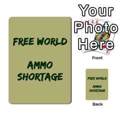 Cds   Free World By Agentbalzac   Multi Purpose Cards (rectangle)   826uvfjg2tu2   Www Artscow Com Front 32