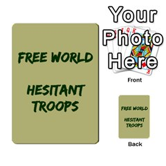 Cds   Free World By Agentbalzac   Multi Purpose Cards (rectangle)   826uvfjg2tu2   Www Artscow Com Front 37