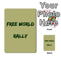 Cds   Free World By Agentbalzac   Multi Purpose Cards (rectangle)   826uvfjg2tu2   Www Artscow Com Front 38