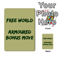 Cds   Free World By Agentbalzac   Multi Purpose Cards (rectangle)   826uvfjg2tu2   Www Artscow Com Front 42