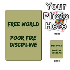 Cds   Free World By Agentbalzac   Multi Purpose Cards (rectangle)   826uvfjg2tu2   Www Artscow Com Front 46