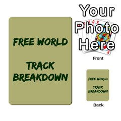 Cds   Free World By Agentbalzac   Multi Purpose Cards (rectangle)   826uvfjg2tu2   Www Artscow Com Front 47
