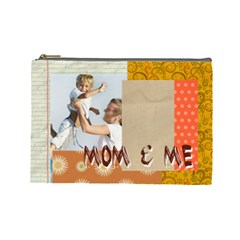 Mom By Joely   Cosmetic Bag (large)   Ie7v2on3z6o7   Www Artscow Com Front