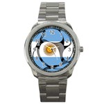 Argentina Sport Metal Watch