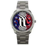 France Sport Metal Watch