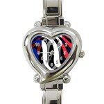 France Heart Italian Charm Watch