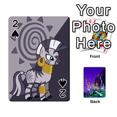 Mlp 1 By Raymond Zhuang   Playing Cards 54 Designs   5hlbciumqjgt   Www Artscow Com Front - Spade2