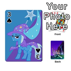 Mlp 1 By Raymond Zhuang   Playing Cards 54 Designs   5hlbciumqjgt   Www Artscow Com Front - Spade3