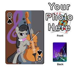 Queen Mlp 1 By Raymond Zhuang   Playing Cards 54 Designs   5hlbciumqjgt   Www Artscow Com Front - SpadeQ