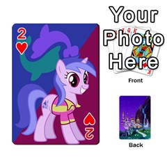 Mlp 1 By Raymond Zhuang   Playing Cards 54 Designs   5hlbciumqjgt   Www Artscow Com Front - Heart2