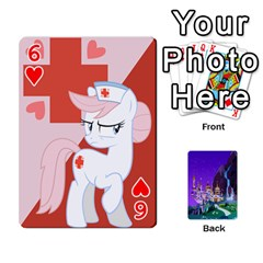 Mlp 1 By Raymond Zhuang   Playing Cards 54 Designs   5hlbciumqjgt   Www Artscow Com Front - Heart6