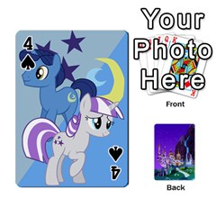 Mlp 1 By Raymond Zhuang   Playing Cards 54 Designs   5hlbciumqjgt   Www Artscow Com Front - Spade4
