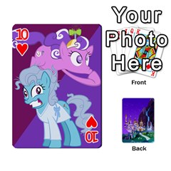 Mlp 1 By Raymond Zhuang   Playing Cards 54 Designs   5hlbciumqjgt   Www Artscow Com Front - Heart10