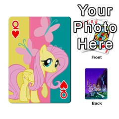 Queen Mlp 1 By Raymond Zhuang   Playing Cards 54 Designs   5hlbciumqjgt   Www Artscow Com Front - HeartQ