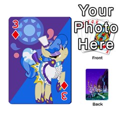 Mlp 1 By Raymond Zhuang   Playing Cards 54 Designs   5hlbciumqjgt   Www Artscow Com Front - Diamond3