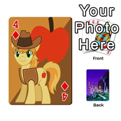 Mlp 1 By Raymond Zhuang   Playing Cards 54 Designs   5hlbciumqjgt   Www Artscow Com Front - Diamond4
