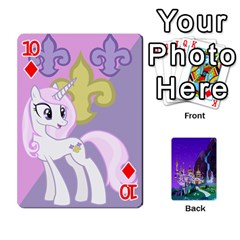 Mlp 1 By Raymond Zhuang   Playing Cards 54 Designs   5hlbciumqjgt   Www Artscow Com Front - Diamond10