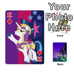 King Mlp 1 By Raymond Zhuang   Playing Cards 54 Designs   5hlbciumqjgt   Www Artscow Com Front - DiamondK