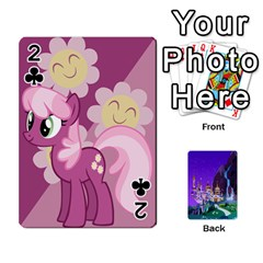 Mlp 1 By Raymond Zhuang   Playing Cards 54 Designs   5hlbciumqjgt   Www Artscow Com Front - Club2