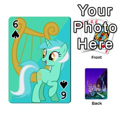 Mlp 1 By Raymond Zhuang   Playing Cards 54 Designs   5hlbciumqjgt   Www Artscow Com Front - Spade6