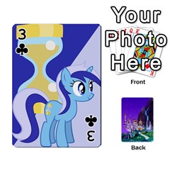 Mlp 1 By Raymond Zhuang   Playing Cards 54 Designs   5hlbciumqjgt   Www Artscow Com Front - Club3