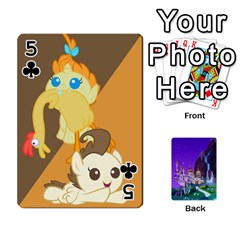 Mlp 1 By Raymond Zhuang   Playing Cards 54 Designs   5hlbciumqjgt   Www Artscow Com Front - Club5