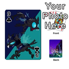Mlp 1 By Raymond Zhuang   Playing Cards 54 Designs   5hlbciumqjgt   Www Artscow Com Front - Club9