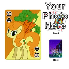 Mlp 1 By Raymond Zhuang   Playing Cards 54 Designs   5hlbciumqjgt   Www Artscow Com Front - Club10