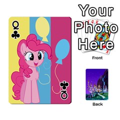Queen Mlp 1 By Raymond Zhuang   Playing Cards 54 Designs   5hlbciumqjgt   Www Artscow Com Front - ClubQ