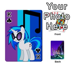 King Mlp 1 By Raymond Zhuang   Playing Cards 54 Designs   5hlbciumqjgt   Www Artscow Com Front - ClubK