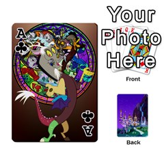 Ace Mlp 1 By Raymond Zhuang   Playing Cards 54 Designs   5hlbciumqjgt   Www Artscow Com Front - ClubA