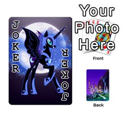 Mlp 1 By Raymond Zhuang   Playing Cards 54 Designs   5hlbciumqjgt   Www Artscow Com Front - Joker1