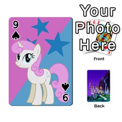Mlp 1 By Raymond Zhuang   Playing Cards 54 Designs   5hlbciumqjgt   Www Artscow Com Front - Spade9