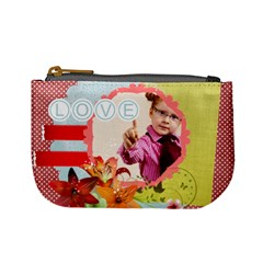 Love By Joely   Mini Coin Purse   4otgds7lzt5f   Www Artscow Com Front