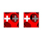Switzerland Cufflinks (Square)