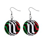 Italy 1  Button Earrings