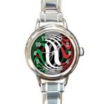 Italy Round Italian Charm Watch