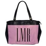 Monogram Handbag - Oversize Office Handbag