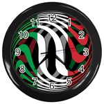 Italy Wall Clock (Black)