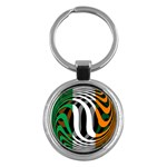 Ireland Key Chain (Round)
