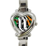 Ireland Heart Italian Charm Watch