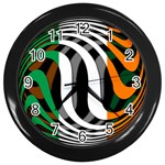 Ireland Wall Clock (Black)