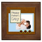 fathers day - Framed Tile
