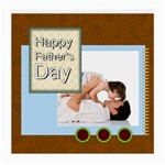 fathers day - Medium Glasses Cloth (2 Sides)