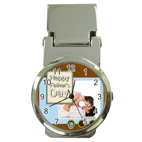 Fathers Day By Joely   Money Clip Watch   Zdoc0jp60rh1   Www Artscow Com Front