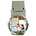 fathers day - Money Clip Watch