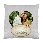 wedding - Standard Cushion Case (One Side)
