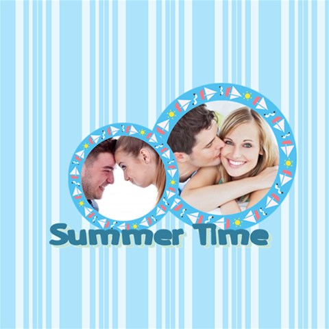 Summer Time By May   Scrapbook Page 12  X 12    Fojkit3qg7qp   Www Artscow Com 12 x12 Scrapbook Page - 1